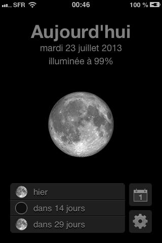 mooncast lune 23 juillet