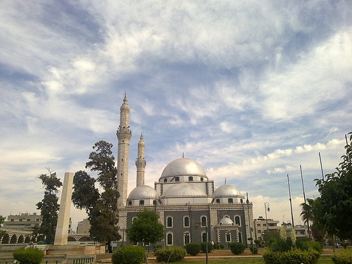 mosquee syrie khalid ibn walid