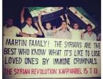 Trayvon Martin Syrie