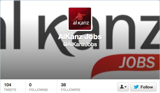 AlKanz Jobs sur Twitter