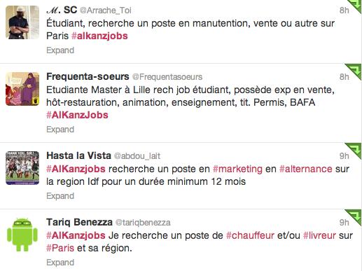 #AlKanzjobs sur Twitter