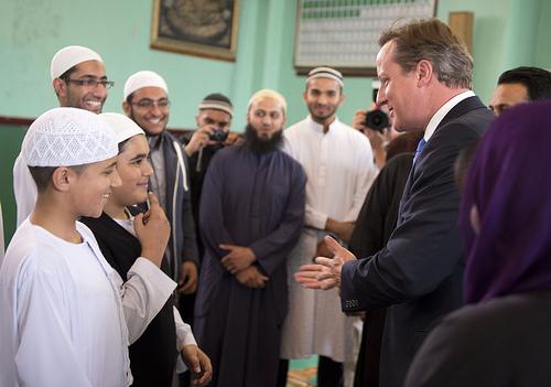 David Cameron ramadan karim