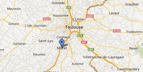 Muret près de Toulouse