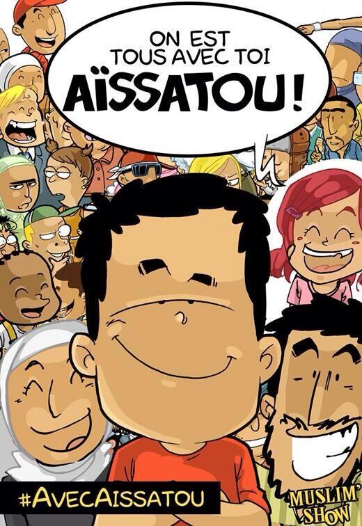 Muslimshow avec Aissatou