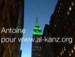 Pour Aid Empire State Building etait illumine
