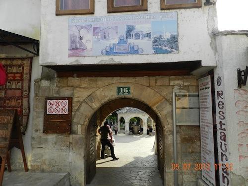 bosnie panneau mosquée 2