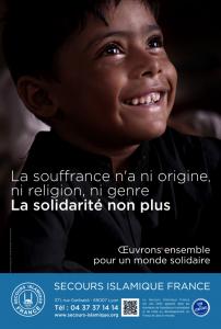 campagne secours islamique 2013 à Lyon