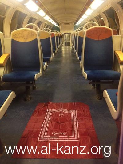 dans le RER région parisienne