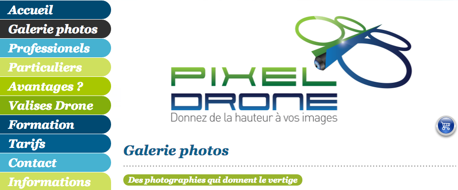 pixel drone