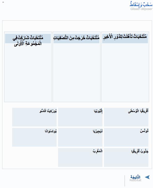Aljazeera Arabe - glisser deposer