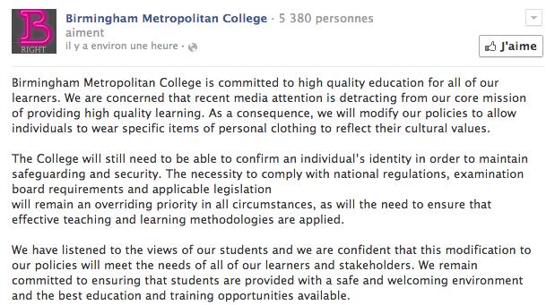 Birmingham College Metropolitan