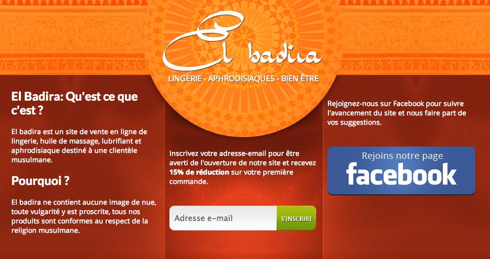 El Badira, prochaine boutique érotique à l'adresse des musulmans