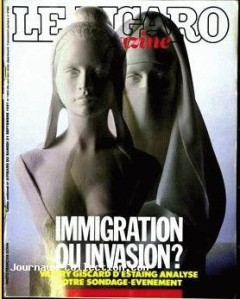 Le Figaro magazine  1991 immigration invasion