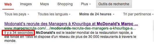 Mcdo Maroc recrute
