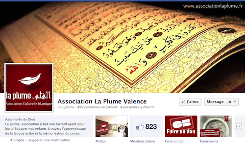association la plume Valence Facebook