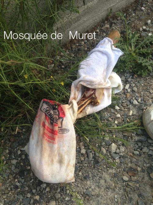 porc à la mosquée de Muret