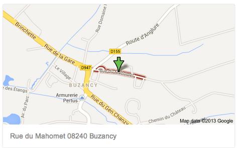rue de Mahomet Buzancy