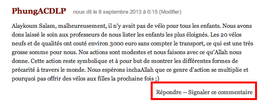 signaler commentaire