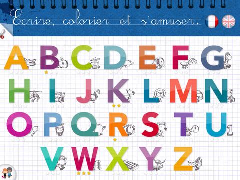 KidSchool - Mon premier alphabet en Français & Anglais pour iPad 3