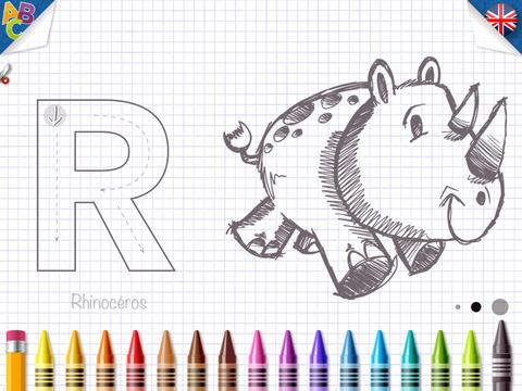 KidSchool - Mon premier alphabet en Français & Anglais pour iPad 2