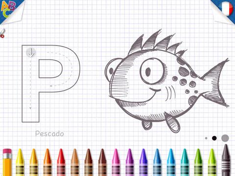 KidSchool - Mon premier alphabet en Français & en Espagnol 2