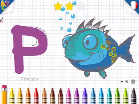 KidSchool - Mon premier alphabet en Français & en Espagnol 4