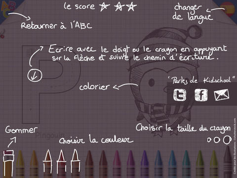 KidSchool - Mon premier alphabet en Français & en Espagnol 5