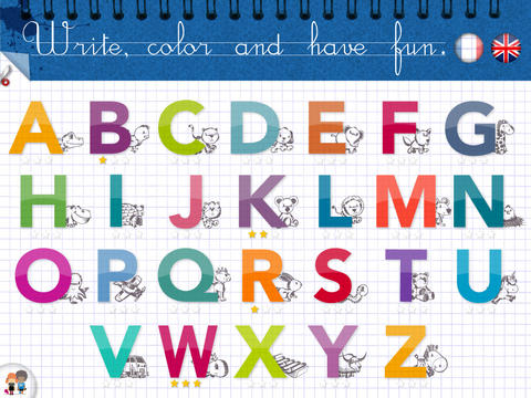KidSchool - My first alphabet in English & French - 1