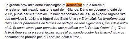 Le Monde Jérusalem