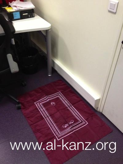 bureau dans ONG non musulmane