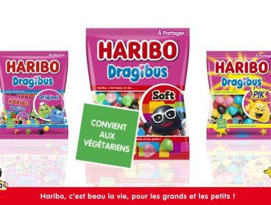 Bonbon sans gélatine animale Haribo