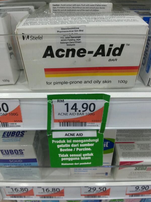 acne gelatine porcine indonesie
