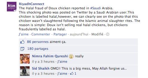 fake halal Doux