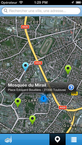 trouve ta mosquee application iPhone 2