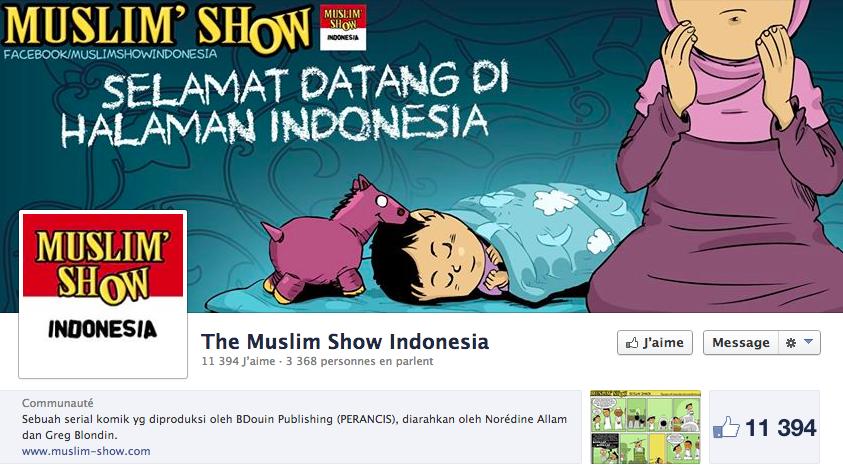 muslim show en indonesien