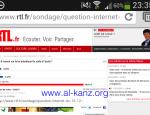 RTL sondage astroturfing
