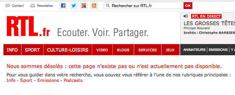 RTL sondage voile