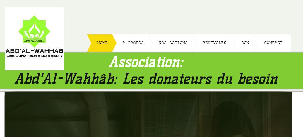 donateurs du besoin