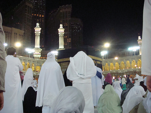 kaabah by night