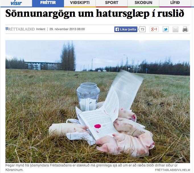 porc islamophobie en Islande