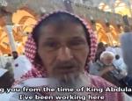 saoudien prie depuis 80 ans devant la Kaaba