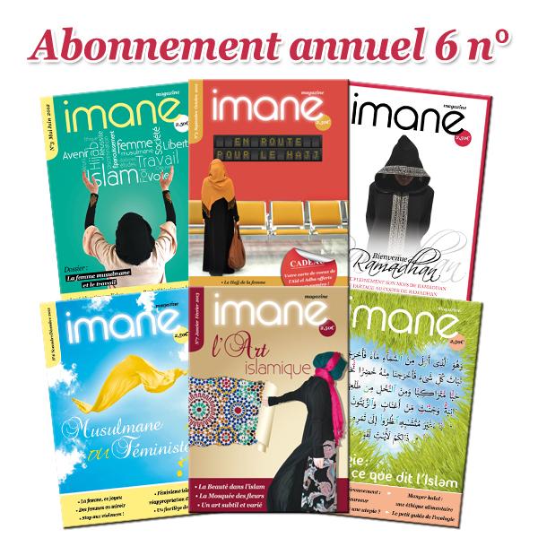 abonnement annuel Imane Magazine