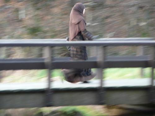 maman voilée hijab