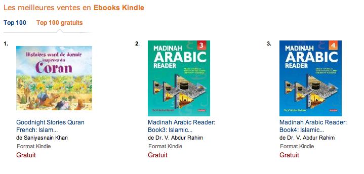 Coran Amazon meilleures ventes