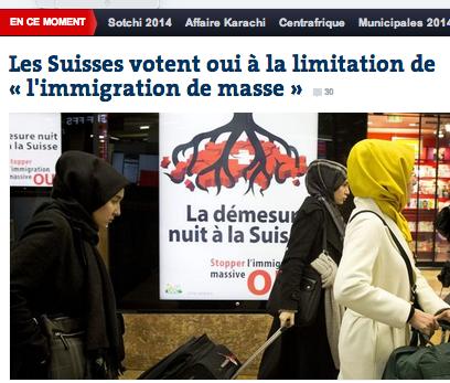 Le Monde votation suisse