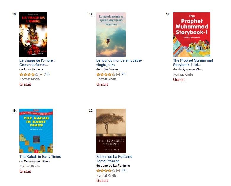 meilleures ventes Kindle 2