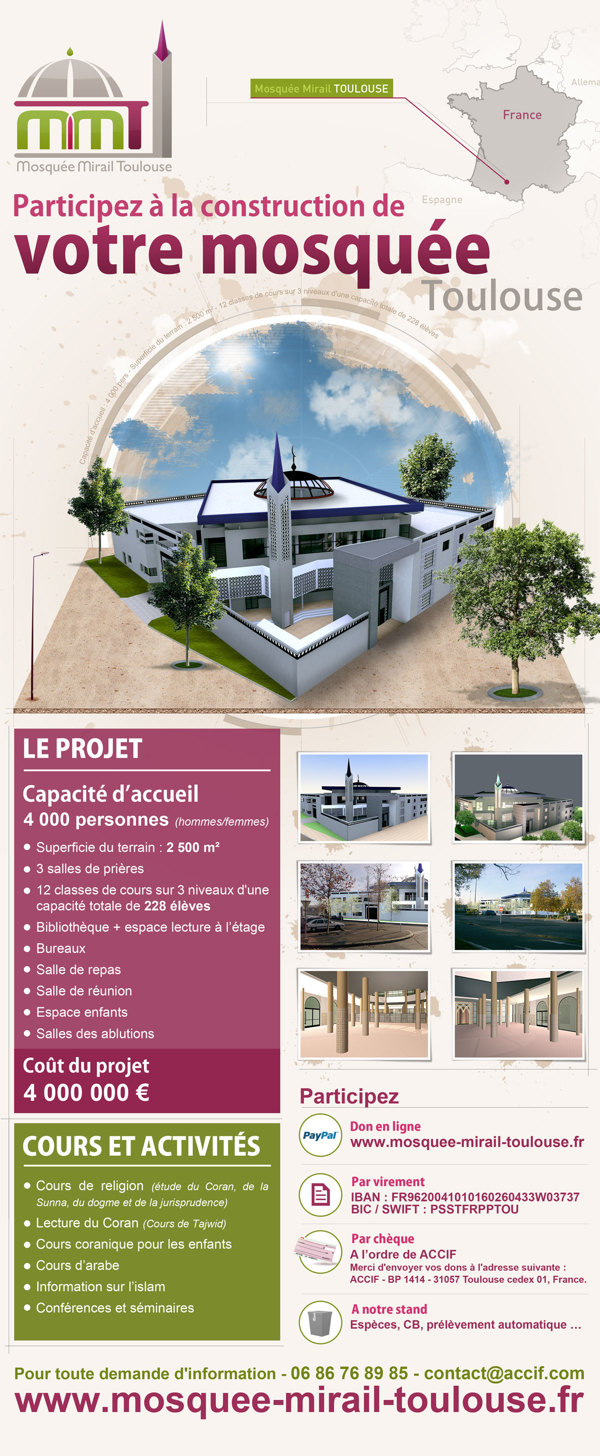 mosquee mirail toulouse