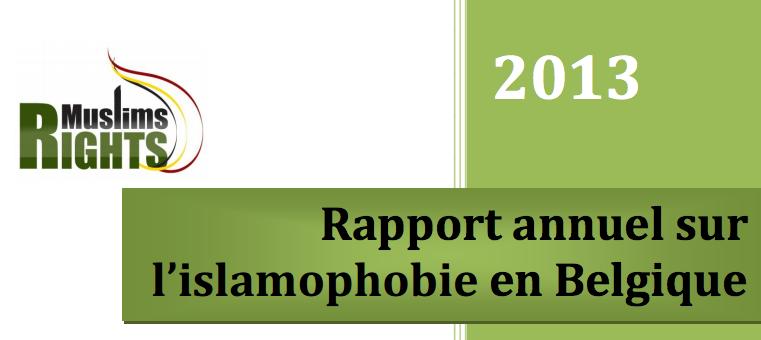 rapport islamophobie 2013