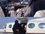 niqab avion