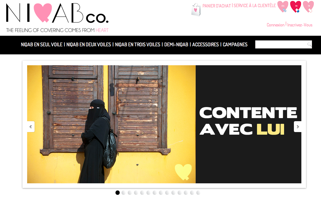niqab e-boutique